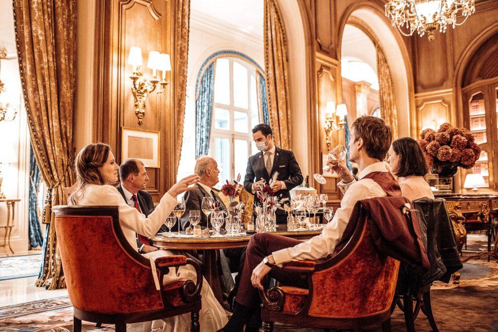 Réception de mariage à Paris