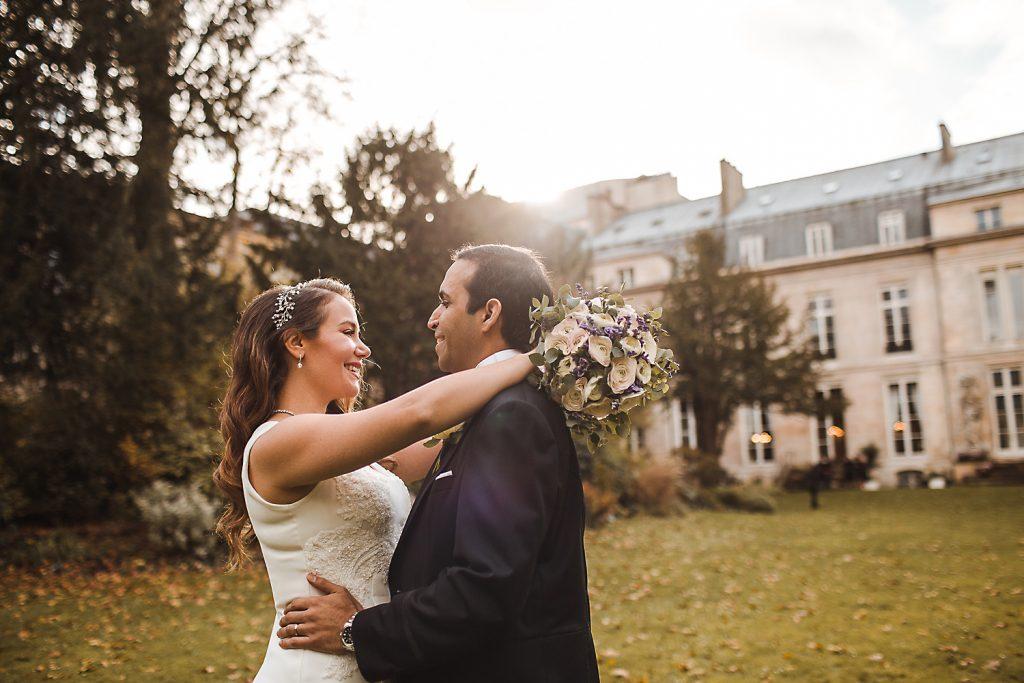 mariage photos de couple à la mairie du 7ème