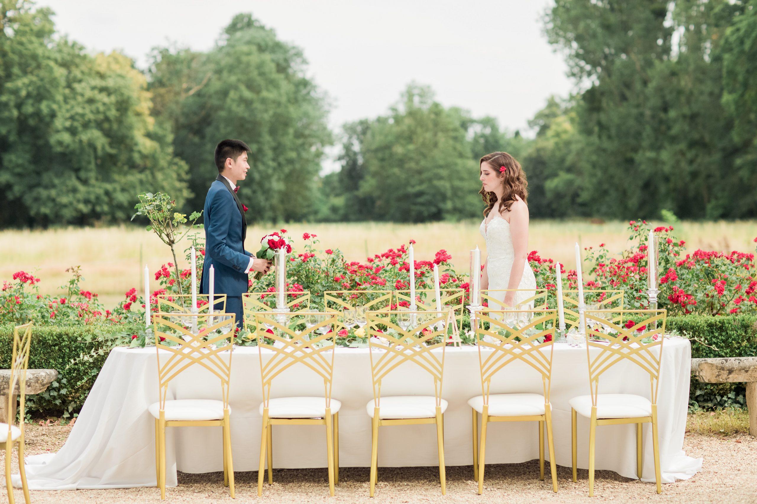 Mariage en plein air