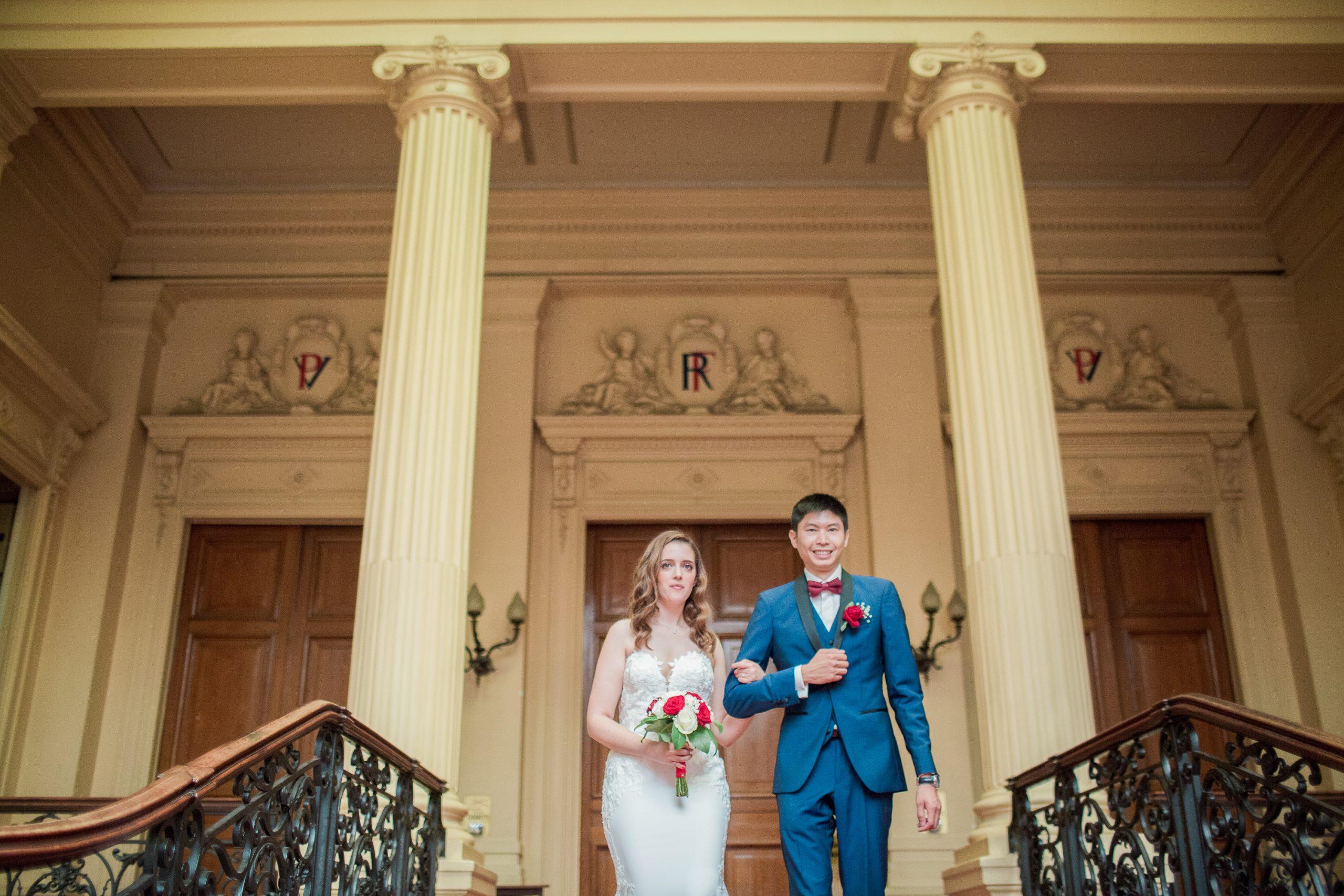 photographe-mariage-mairie-du-18eme-sortie-cérémonie