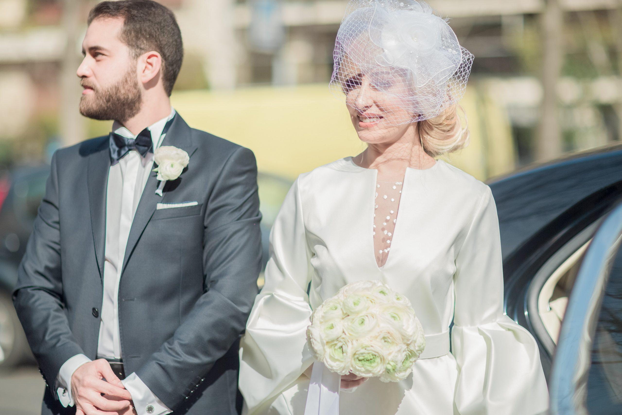 photographie-mariage-arrivée-mariés-paris16