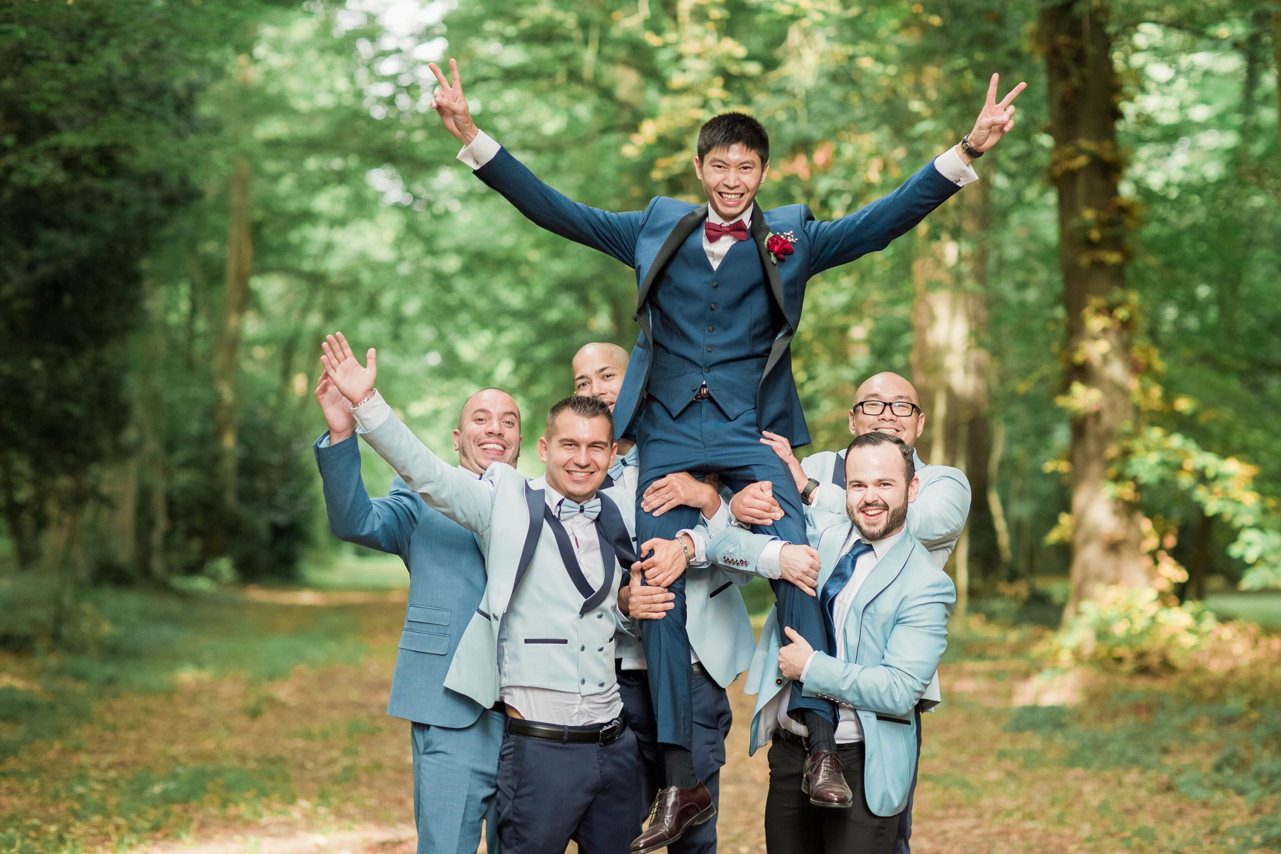 photographie-mariage-garcon-d'honneur-chateau-nandy